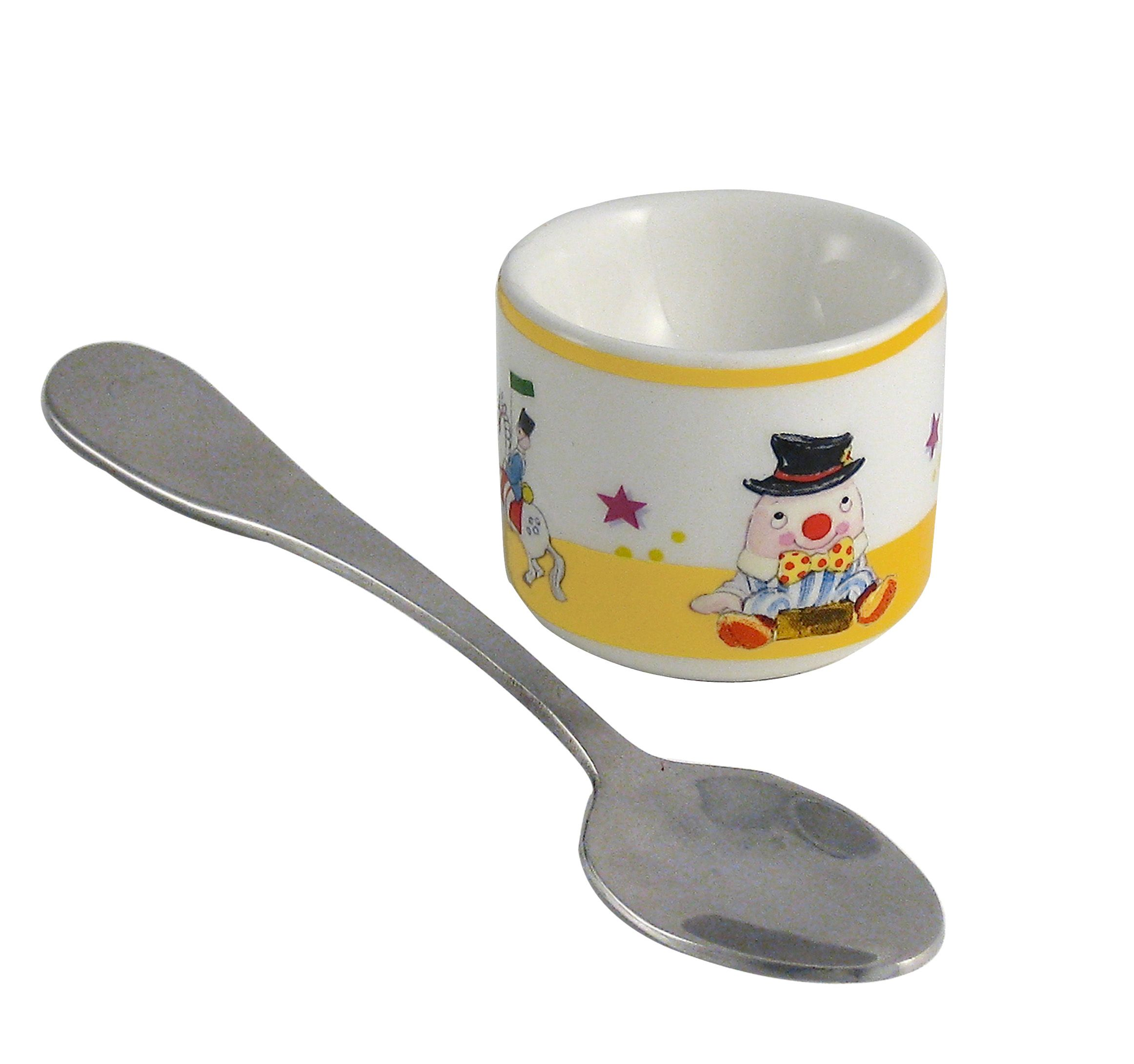 Aynsley Aynsley Humpty Dumpty eggcup and spoon