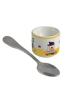 Humpty Dumpty eggcup and spoon