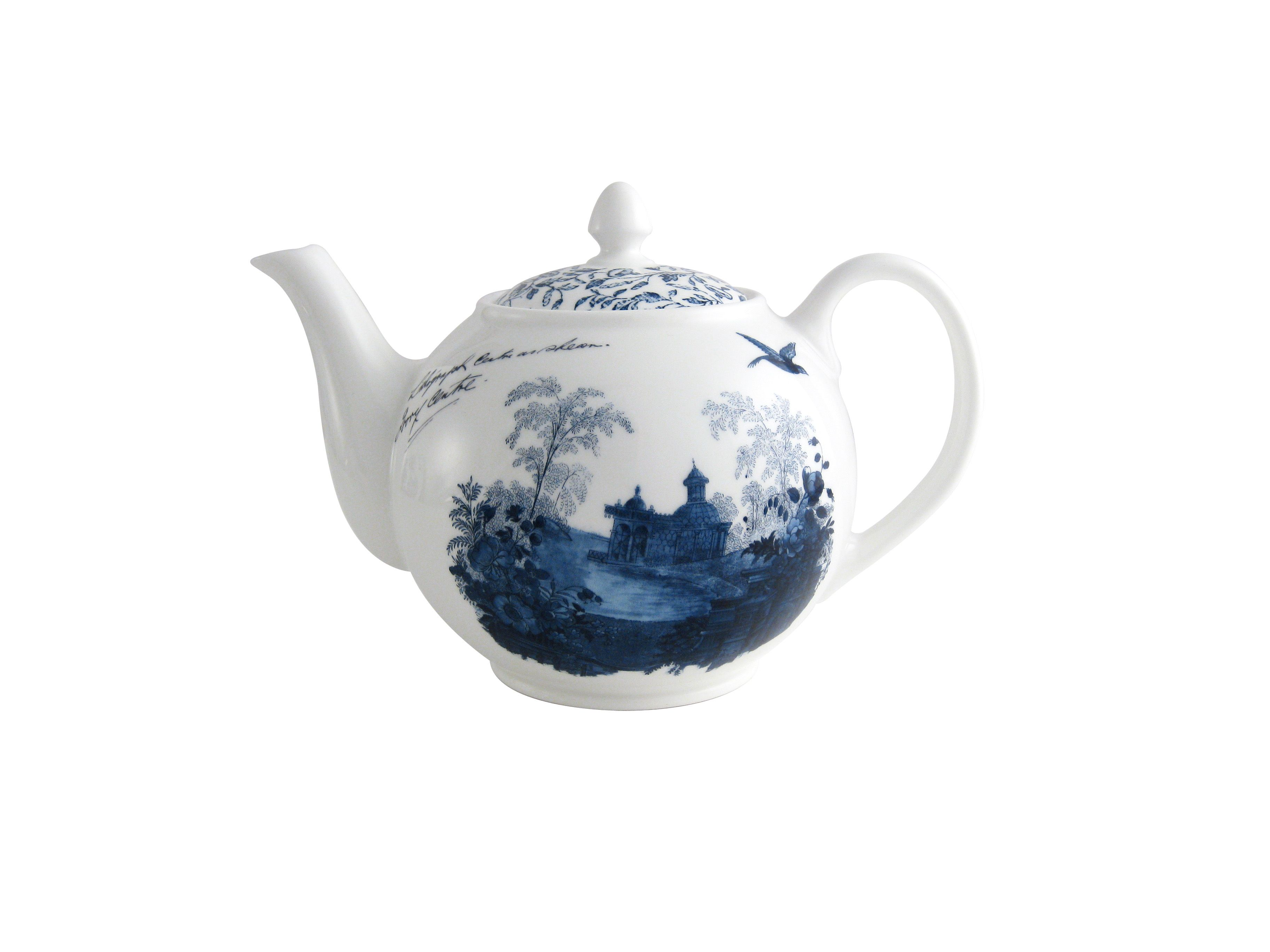 Archive Blue medium teapot