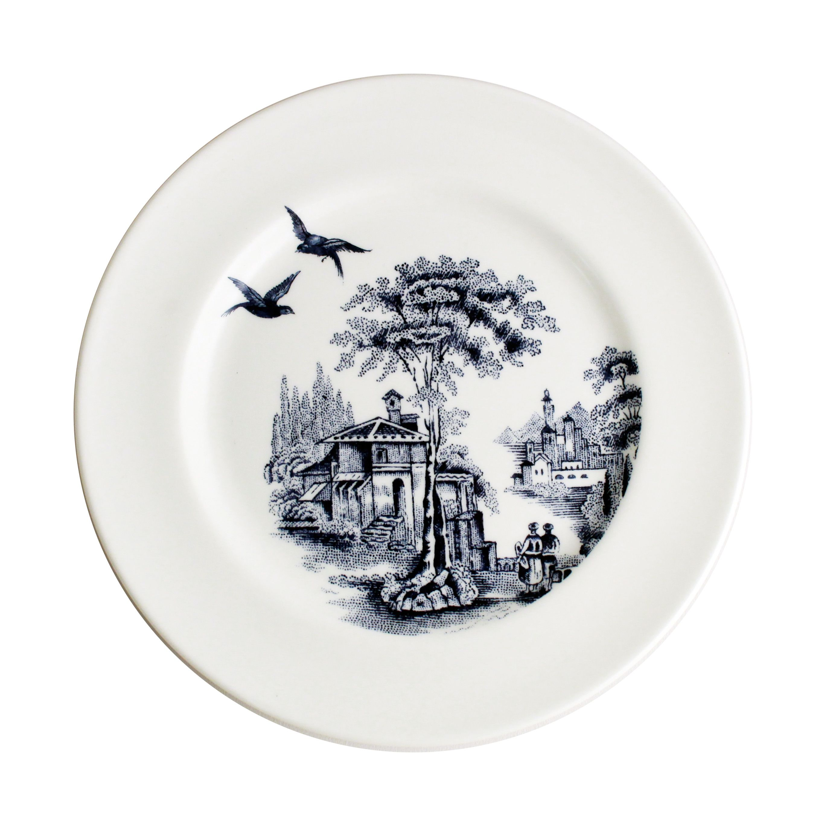 Archive Blue Flight 8 plate