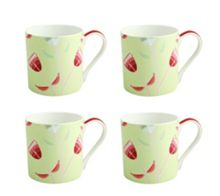 Wild flowers mugs set