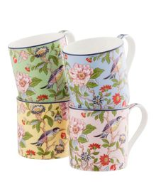 Aynsley Pembroke windsor mugs (set of 4)