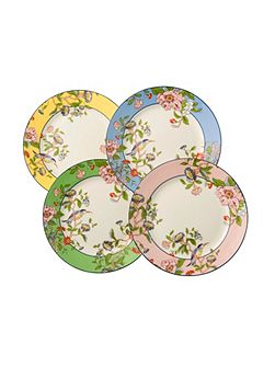 Pembroke mixed plates set of 4
