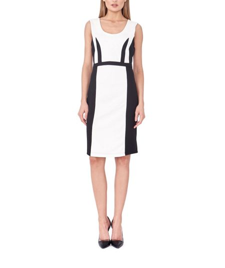 MAIOCCI Collection Side Block Form Fitting Dress
