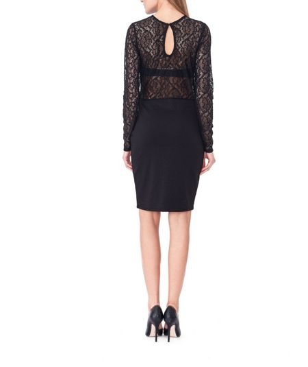 MAIOCCI Collection Dress with Lace Top
