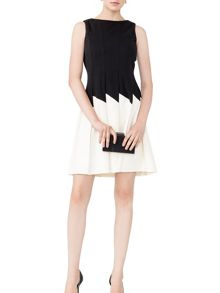 MAIOCCI Collection Fit and Flare  Dress