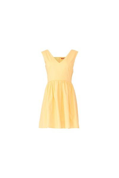 MAIOCCI Collection V-neck Baby Doll Dress