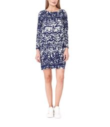 MAIOCCI Collection Graphic Shift Dress