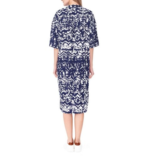 MAIOCCI Collection Graphic Shirt Dress