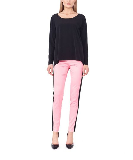 MAIOCCI Collection Scoop Neck Blouse