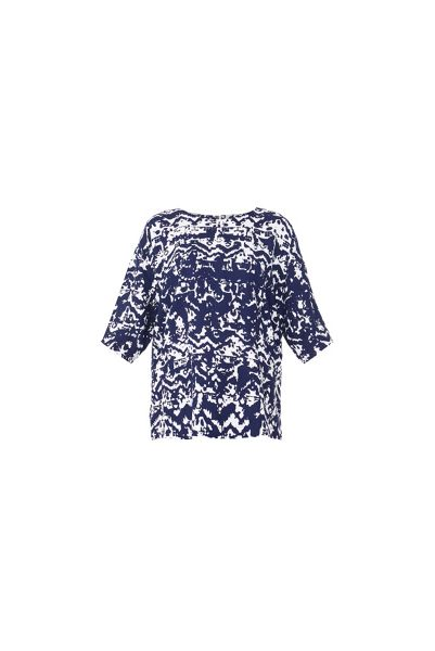 MAIOCCI Collection Graphic Casual Top