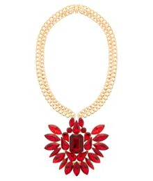 MAIOCCI Collection Mauka red handmade necklace