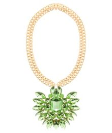 MAIOCCI Collection Mauka green handmade necklace