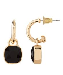 MAIOCCI Collection Gold, black earrings