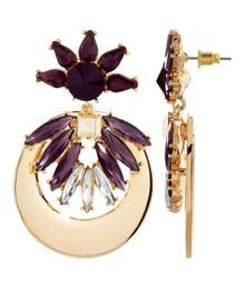 MAIOCCI Collection Gold, multicolor earrings