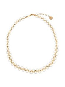 MAIOCCI Collection Gold necklace with pearls