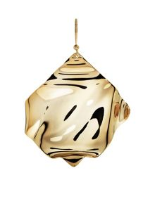 MAIOCCI Collection Gold geometric earrings