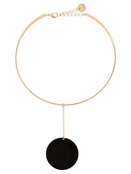 MAIOCCI Collection Gold and black necklace