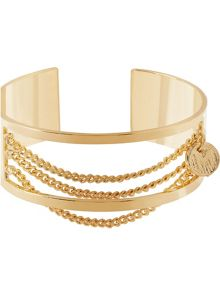 MAIOCCI Collection Gold chain links bangle