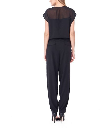 MAIOCCI Collection Slouchy Zipper Jumpsuit