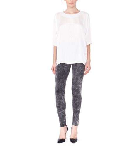 MAIOCCI Collection Acid Washed Leggings