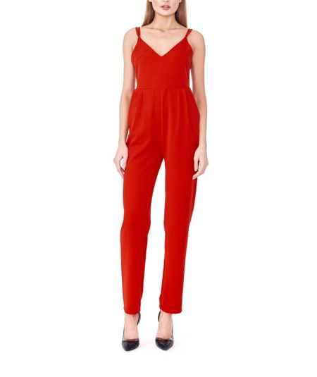 MAIOCCI Collection Strappy Jumpsuit