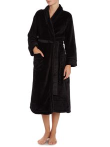 DKNY Fleece Long Robe