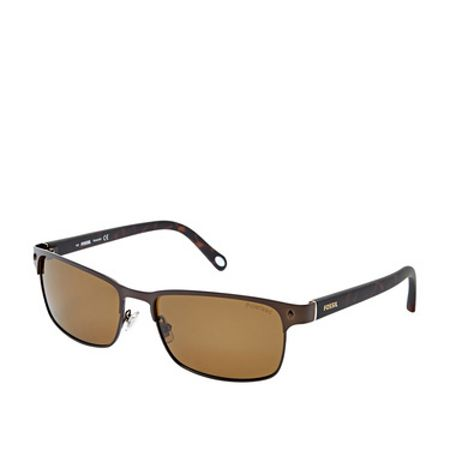 Fossil FOS3000PRAMP Mens Wrap Sunglasses
