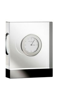 Deco rectangular clock