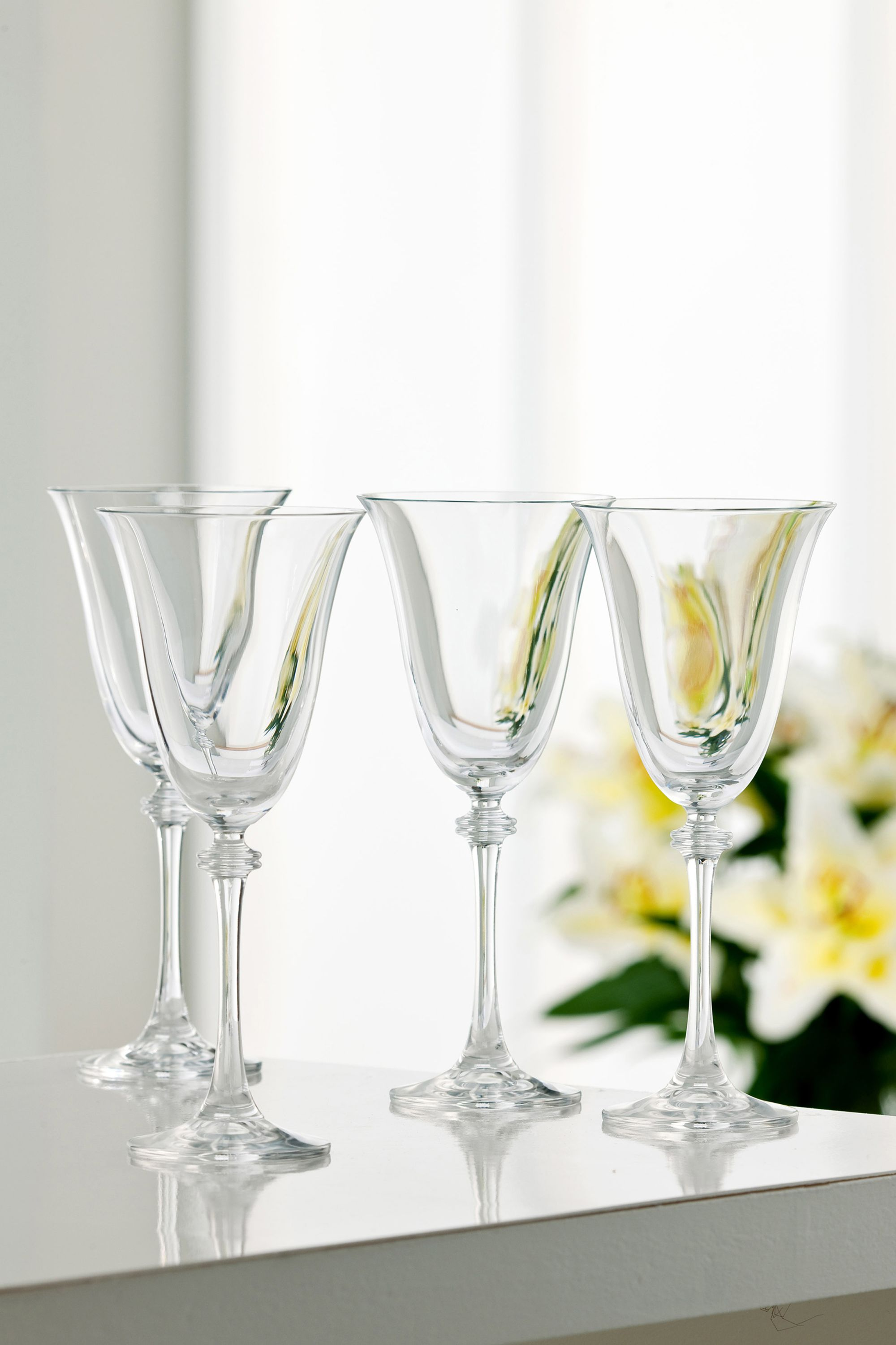 Galway Galway Liberty Goblet Set of 4