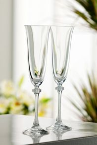 Galway Liberty Champagne Flutes Set of 2
