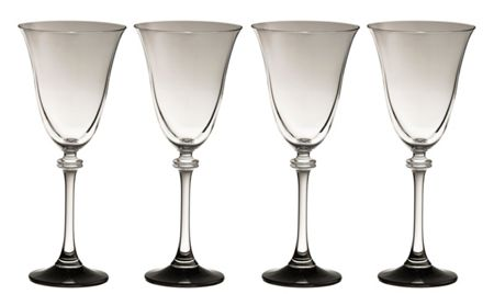 Galway Liberty noir goblets (set of 4)