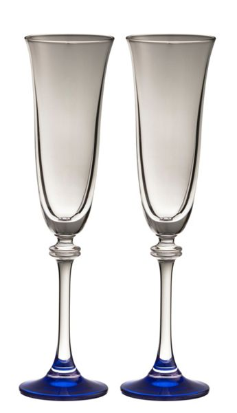Galway Liberty sapphire flutes (set of 2)