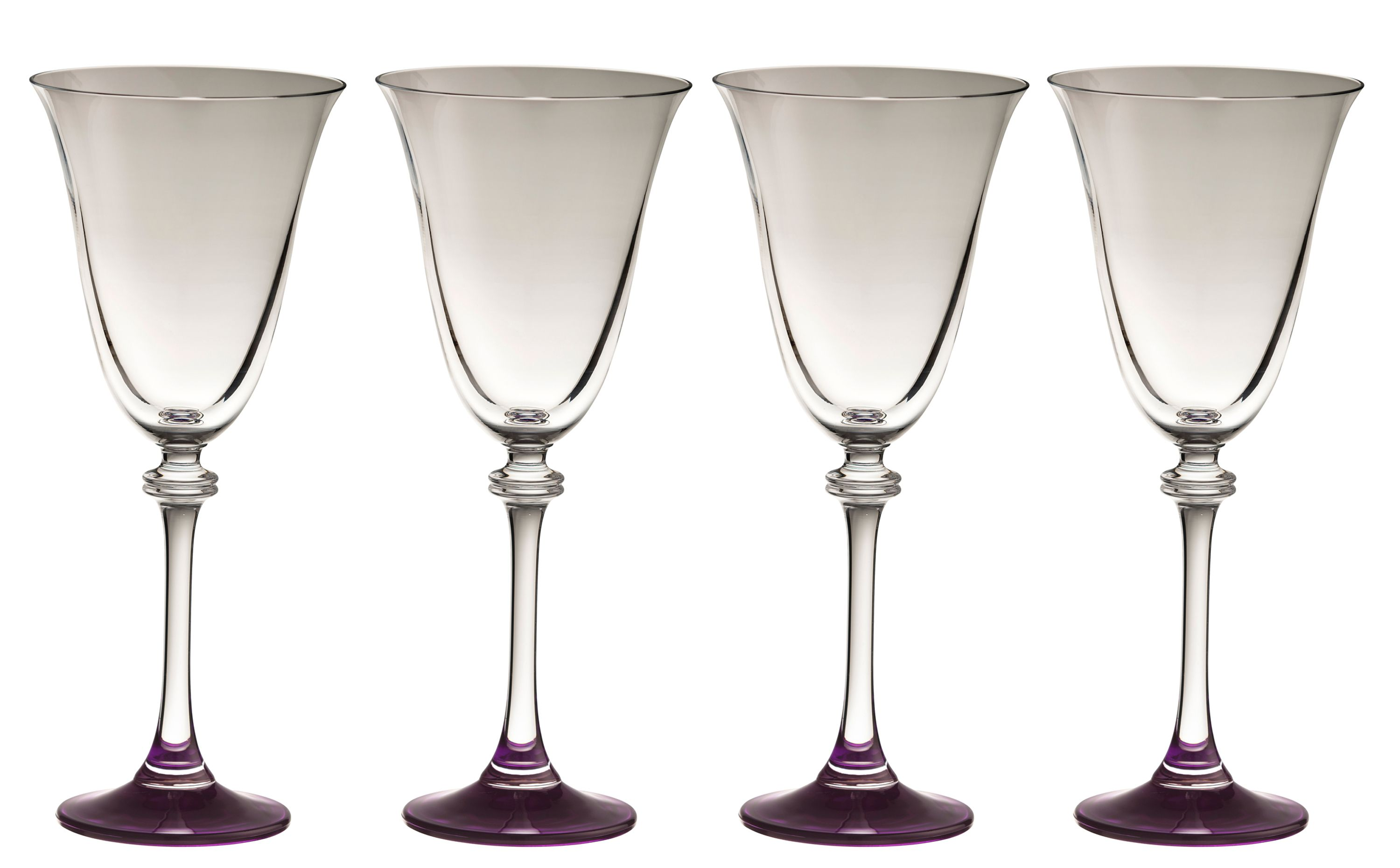 Galway Galway Liberty amethyst goblets (set of 4)