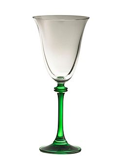 Liberty green goblets (set of 4)
