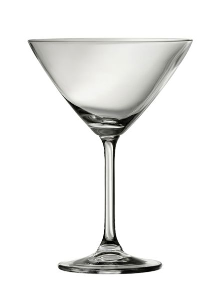 Galway Clarity martini glasses