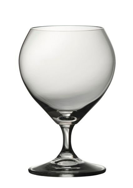 Galway Clarity balloon brandy glasses set of 6