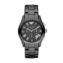 Emporio Armani AR1400 Ceramic Black Mens Bracelet Watch