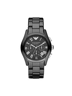 AR1400 Ceramic Black Mens Bracelet Watch