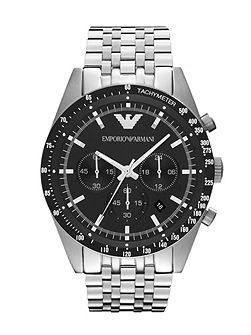 AR5988 Silver Mens Bracelet Watch