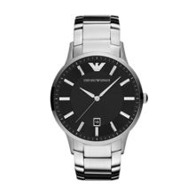 AR2457 Classic Silver Mens Bracelet Watch
