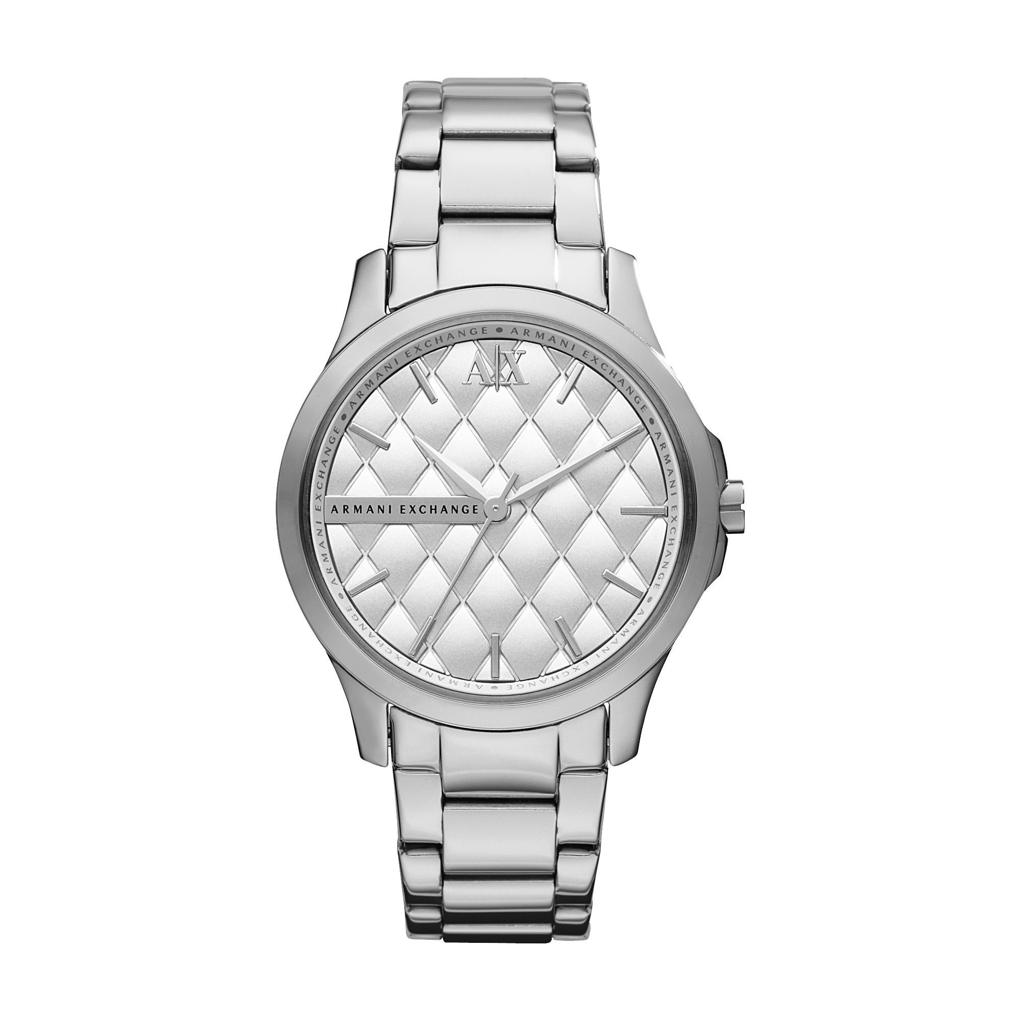 AX5200 Smart silver stainless steel ladies watch