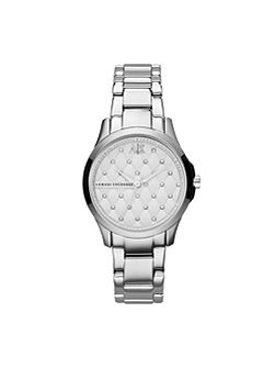 AX5208 SMART silver stainless steel ladies watch