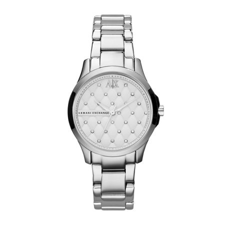 Armani Exchange AX5208 SMART silver stainless steel ladies watch