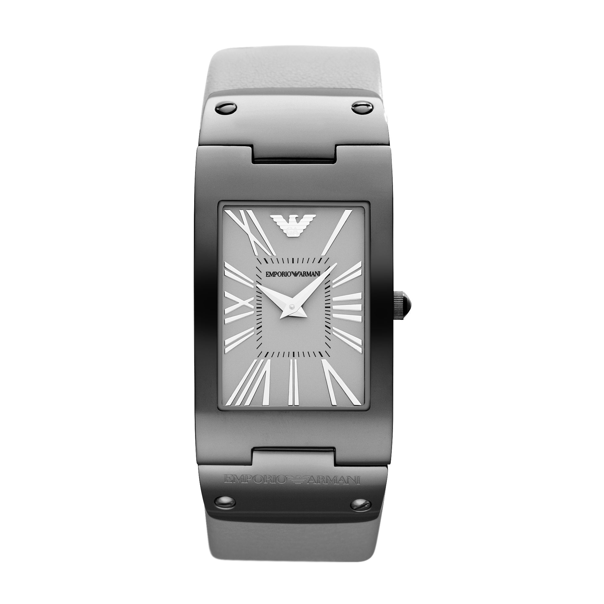AR7340 Classic grey leather ladies watch