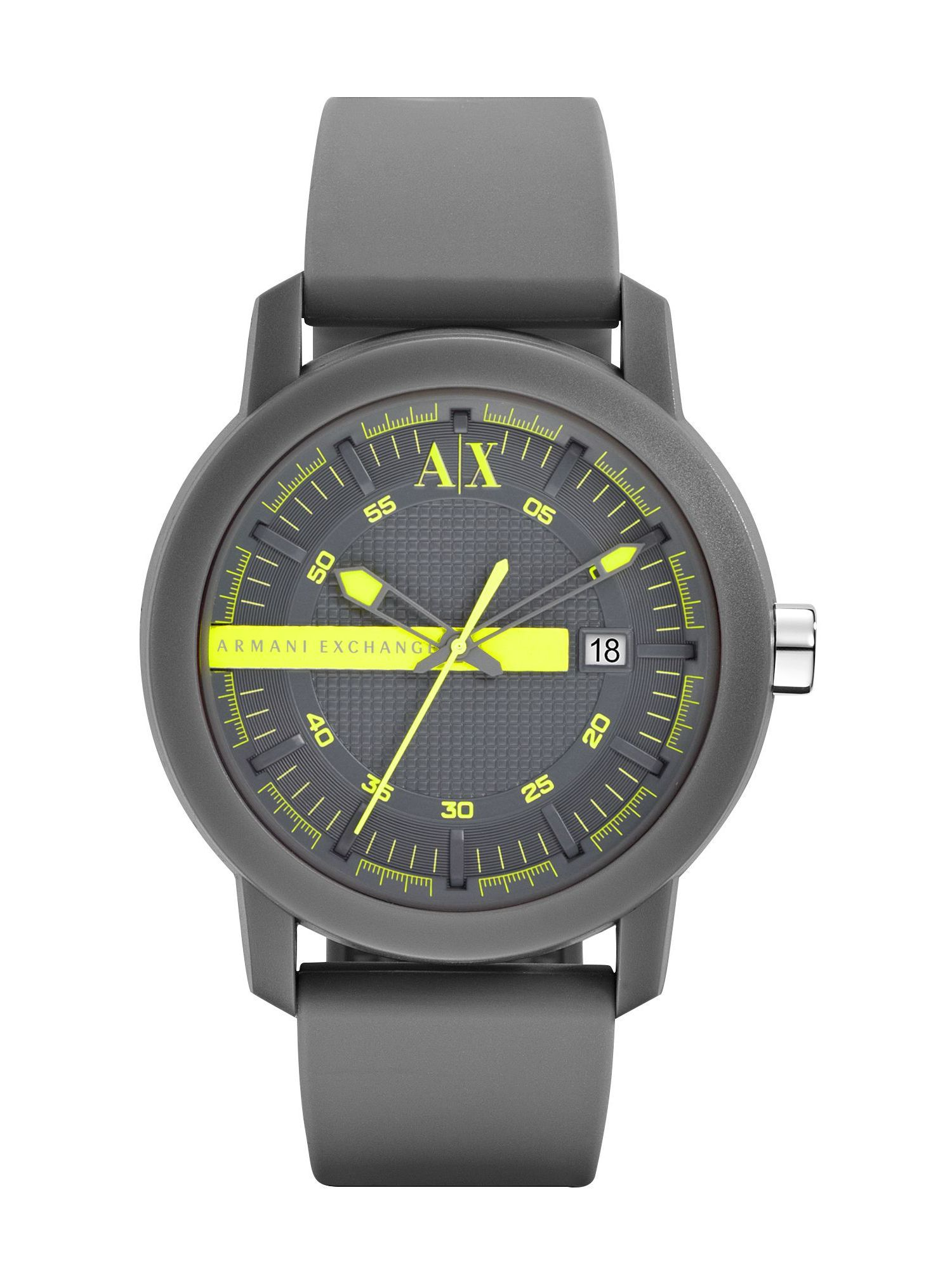 AX1244 Active grey silicone unisex watch