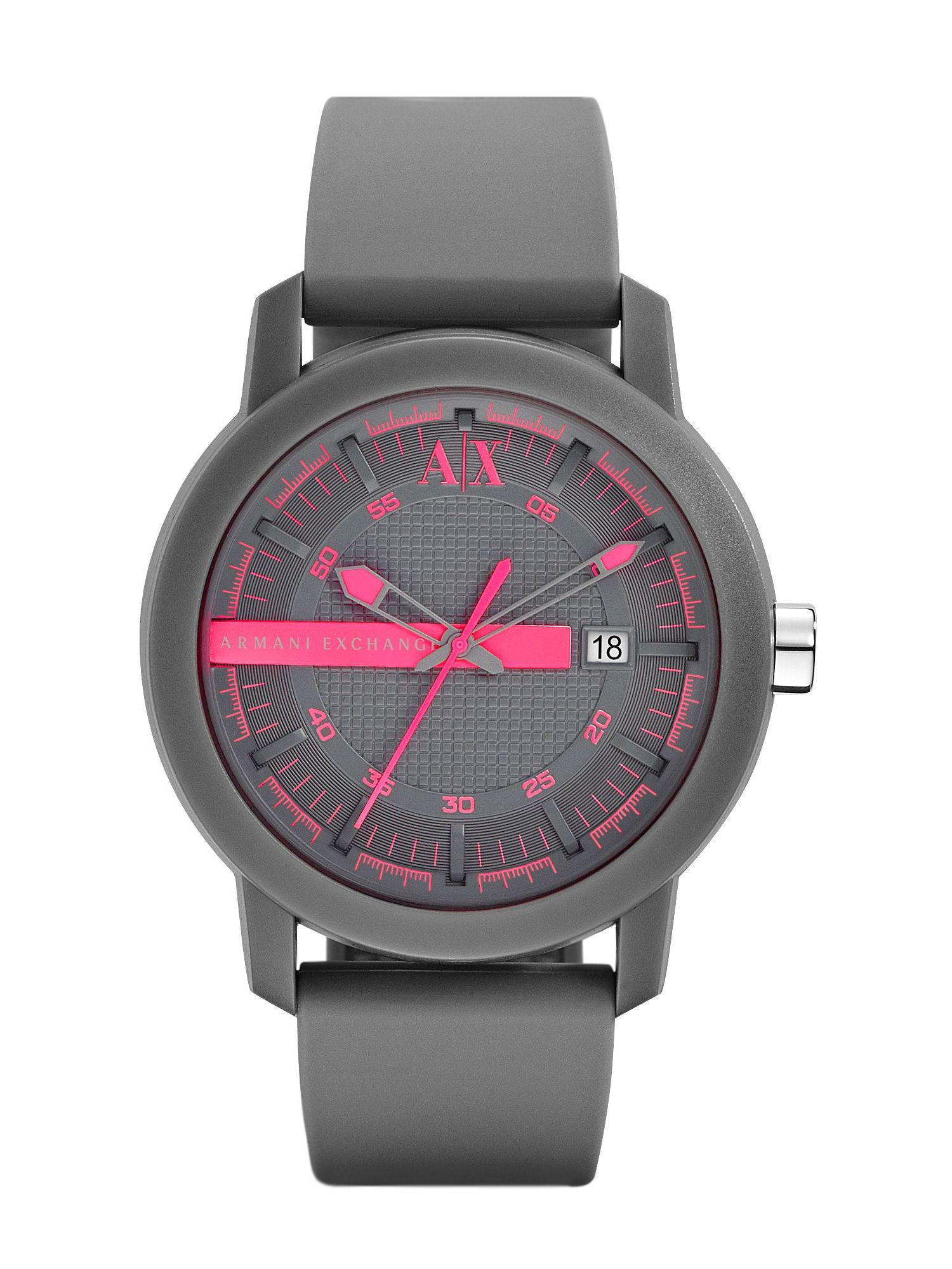 AX1246 Active grey silicone unisex watch