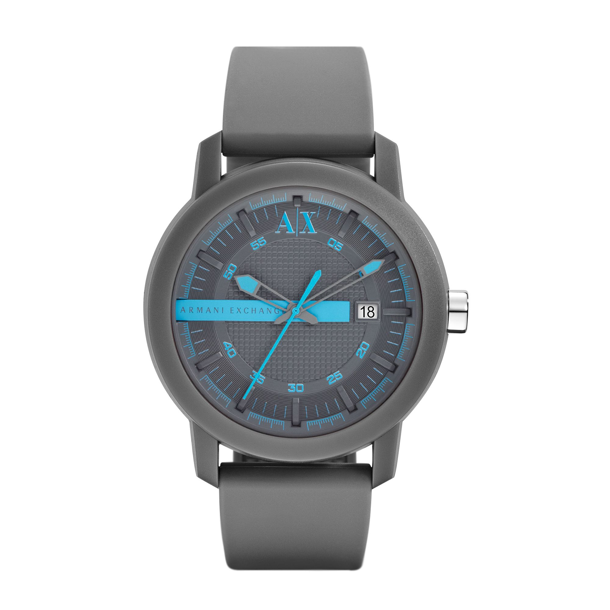 AX1248 ACTIVE grey silicone unisex watch