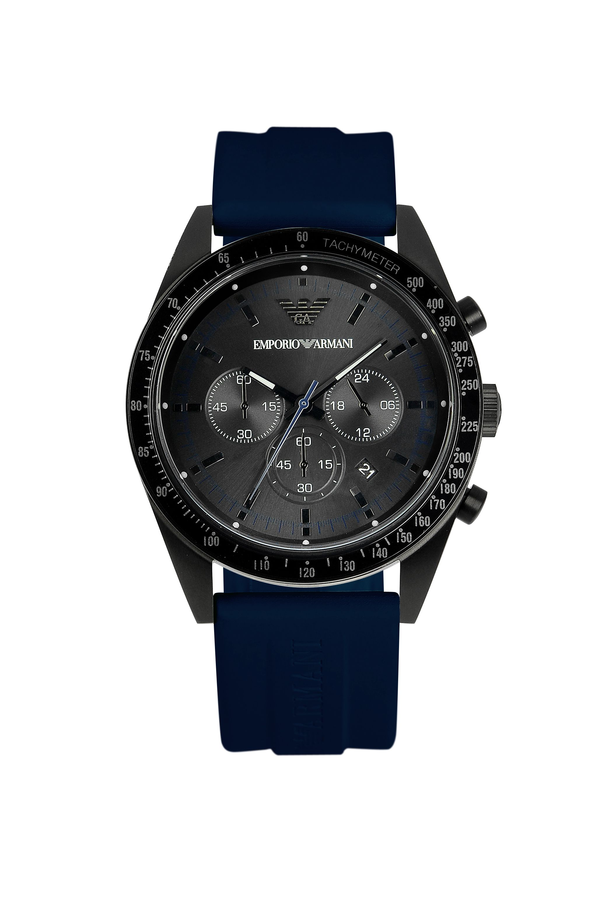 AR6113 Sport blue rubber ladies watch