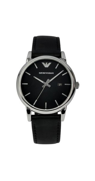 Emporio Armani AR1692 Classic Black Leather Mens Watch